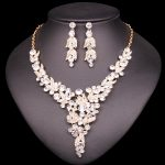 Wedding <b>Jewelry</b> Set For Brides Bridesmaid Costume Accessories Bridal Necklace Earrings Sets dropshipping <b>supplies</b> for <b>jewelry</b>