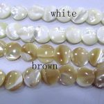2strands 8-20mm Mop Shell <b>Jewelry</b> mother of pearl shell beads round coin disc white brown loose beads DIY findings <b>supplies</b>