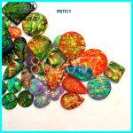 Taidian Opal Effect flatback Sew on Rhinestone Resin Cabochons For <b>native</b> <b>American</b> Powwow <b>Jewelry</b> Making send randomly