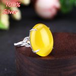 14 * 18MM 925 Sterling Silver Ring Setting Oval Cabochon Base Adjustable Blanks <b>Supplies</b> for <b>Jewelry</b> Making