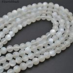 High Quality Grey Moonstone Round Loose Beads 6mm 8mm 10mm <b>Jewelry</b> making <b>supplies</b>