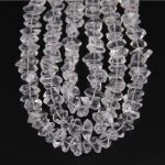 Polished Clear White Quartz Point Beads Centre Drilled Faceted Stick Beads <b>Supplies</b>,Natural Quartz Raw Crystals <b>Jewelry</b> Making