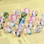 2017 <b>Jewelry</b> Rings Wholesale Jewellery Mix Lots 20pcs Lovely Children/kinds Lucite Princess Anna Elsa Pretty Ring Party <b>Supplies</b>