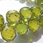 20pcs 5x7mm lemon green Cubic Zirconia Beads, <b>Jewelry</b> Craft <b>Supplies</b> diamond teardrop drop faceted CZ <b>jewelry</b>