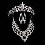 Crown <b>Supply</b> married bride crown headdress Yiwu <b>jewelry</b> factory direct crystal bridal headdress