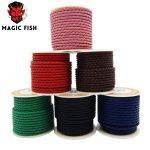 Magic fish Braided leather cowskin rope DIY Charm men bracelets Genuine leather cord Wholesale <b>supplies</b> hand made <b>jewelry</b> brinco