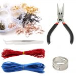 Open Jump Rings Tools <b>Jewelry</b> Repair Chain Nose Pliers Beading Waxed Cotton Cord And Bent Tweezer For <b>Jewelry</b> Making <b>Supplies</b>