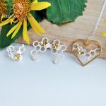 Lotus Fun Moment Real 925 <b>Sterling</b> <b>Silver</b> Natural Handmade Fashion Jewelry Creative Honeycomb Home Guard Jewelry Set for Women