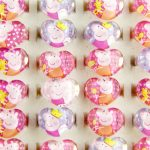 50pcs Wholesale <b>Jewelry</b> Lots Cute Heart-Shaped Resin Cartoon Animal Girls Children Kids Ring Party <b>Supplies</b> Birthday Gift