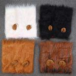 Siheng Pet Cat Funny Wig lion headgear Hat Cat Small Dog Collar Wig Warm Cat <b>Supplies</b> Accessories Halloween Costume Pet <b>Jewelry</b>