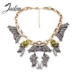 JOOLIM <b>Jewelry</b> Wholesale/ Wing StatementChoker Necklace Summer Style Factory <b>supply</b> free shipping