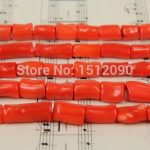 Natural Bamboo Coral Tube Beads Strands,Red Coral Loose Beads Necklace Nuggets Bracelet <b>Jewelry</b> <b>Supplies</b> 10-20mm