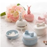 Ceramic Can Wedding candy box <b>jewelry</b> box creative Bow tie wedding Storage products wedding <b>supplies</b> Bow Knot