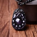 A wholesale <b>supply</b> of Natural Genuine Rainbow Obsidian bubble Pendant Necklace <b>Jewelry</b> and transport