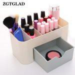 ZGTGLAD 1pcs Drawer Table Storage Box MIni Cosmetic Sundries Case Box Home Storage <b>Supplies</b>