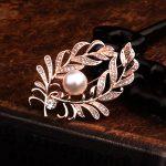 Elegant Brooches Fox/mouth/leaf Zircon Women Wedding/Xmas Party <b>Jewelry</b> Decor Dress Suits Brooch Pin <b>Supplies</b> Accessorise