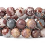 6/8/10mm Natural USA Sonora Jaspe Landscape stone material for bracelets Loose Beads <b>jewelry</b> making <b>supplies</b> necklace beads