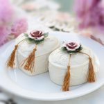Ceramic Wedding Candy <b>Jewelry</b> Box Candy Storage Wedding <b>Supplies</b> for Gift Home decoration Creative Heart-shaped with Lace White