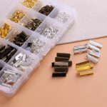 <b>Jewelry</b> Making Finding DIY Kits Claw Clasps Jump Rings Cord Chain Fittings Earring Hook Accessories