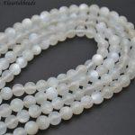 High Quality Grey Moonstone Round Loose Beads 6mm 8mm 10mm <b>Jewelry</b> making <b>supplies</b>