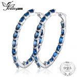 JewelryPalace Huge 13.5ct Genuine Londun Blue Topazss <b>Earrings</b> 925 <b>Sterling</b> <b>Silver</b> New Fine Jewelry For Women Wife Girl