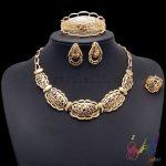 Yulaili Fashion <b>Jewelry</b> Set Splendour Semi-precious Stones <b>Jewelry</b> Set