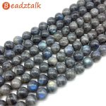Natural Stone Blue Labradorite Moonstone Blue Shinning Beads 12 mm 13 mm Round Spacer DIY Making <b>Jewelry</b> <b>Supplies</b>