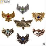 Hot Fashion LOL League of Legends Brooch Collection 7pcs in 1 box 1set,game charm <b>Jewelry</b> high quality,original factory <b>supply</b>