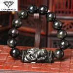 light color for men and women section counter genuine Obsidian single hand brave <b>jewelry</b> wholesale <b>supply</b>