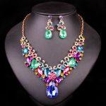 Indian Rhinestone Bridal <b>Jewelry</b> Set Wedding Party Accessories Necklace Earring Set <b>Jewelry</b> For Bride Women <b>supplies</b> for <b>jewelry</b>