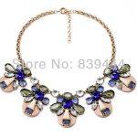 <b>Jewelry</b> <b>Supplies</b> Elegant Bee Crystal Necklace