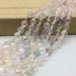 High Quality Natural Color Crystals Beads Nugget Spacer Faceted Hand Cut Cube Bicone 6 8 10 mm DIY <b>Jewelry</b> Making <b>Supplies</b>