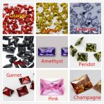 MRHUANG Shine! <b>Jewelry</b> <b>Supplies</b> AAA Brilliant Cuts 2*4mm Retangle Shape Colourful Cubic Zirconia Stone Beads For <b>Jewelry</b> Diy