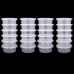 25 Pc Slime Storage Containers Foam Ball Storage Cups Containers With Lids 2018 Drop-shipping Daily <b>Supplies</b> Almacenamiento