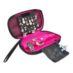 Women's Earring <b>Jewelry</b> Case Multifunction Lady's Necklace Bracelets Ring Organizer Box Travel Cosmetic Bag Accessories <b>Supplies</b>