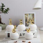 Fashion European ceramic candy box wedding <b>supplies</b> cute animals gold-plated <b>jewelry</b> box exquisite <b>jewelry</b> ring storage tank