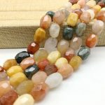AA Quality Natural Colorful Crystals Beads Faceted Oval Stone Spacer 12-16 mm DIY <b>Jewelry</b> Making <b>Supplies</b> Rare Bead
