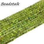 New Arrival Natural Peridot Stone Beads 6 mm Round Spacer 100% Real No Glass No Colored DIY <b>Jewelry</b> Making <b>Supplies</b>