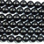 2017 Real Metal Round-brilliant-shape Hot Sale Loose Beads 6mm16 Inch Strand 66 Hole 1mm Onyx <b>Jewelry</b> <b>Supplies</b>