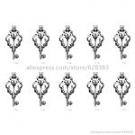 V54 Chic Key Cross Locket Charm Necklace Bracelet <b>Jewelry</b> Making <b>Supplies</b> Pearl Beads Cage Essential Oil Locket Pendant