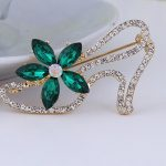 Simple high heels brooch <b>jewelry</b> for women/men fashion <b>jewelry</b> brooch pins metal Scarf Wedding gift diy Jewellery accessories