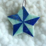 New Design Hot Sell Lapis Lazuli,Amazonite Intarsia Gemstone Star Necklace Pendant Fashion <b>Jewelry</b> Gift Gem <b>Supply</b> 49x3mm 12.1g