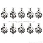 V52 Trendy Lotus Flower Locket Necklace Bracelet <b>Jewelry</b> Making <b>Supplies</b> Pearl Beads Cage Essential Oil Diffuser Locket Pendants