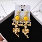 2017 retro Baroque angel pearl long earrings earrings female cross-border electricity business <b>supply</b> earrings <b>jewelry</b> 711