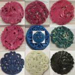 1PCS Vintage Style Stone Pendants Gem <b>Jewelry</b> DIY <b>Supplies</b> Charm Necklace Natural Souvenir Gift