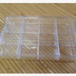 Latest thicken 12 grid large size transparent plastic storage box <b>jewelry</b> electronic components home <b>supplies</b> collection box