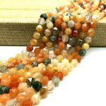 New Cutting Beads Natural Mixed Color Crystal Stone Spacer Loose Beads 5 7 9 mm DIY <b>jewelry</b> making <b>supplies</b>