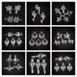 10pcs Silver Snowflake Pearl Cage <b>Jewelry</b> Making <b>Supplies</b> Bead Cage Pendant Essential Oil Diffuser For Pearl <b>Jewelry</b>