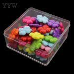 <b>Supply</b> DIY fashion <b>jewelry</b> Fittings,Acrylic Beads,Small Size Cartoon Clover,Mix Color,Children's handcraft Accessory