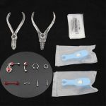 Body Piercing Kit Tools Pliers Piercing <b>Supplies</b> Belly Ring Eyebrow Nose Body Piercing Jewerly